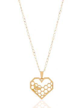 خلية حبي من الذهب الأصفر عيار 18 قيراط