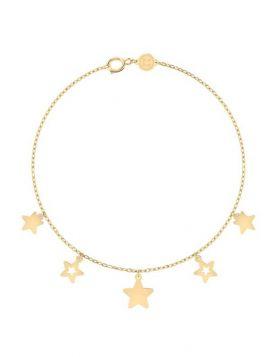 سوار النجمات الصغيرة، حلم ليلة صيف، من الذهب الأصفر عيار 18 قيراط
