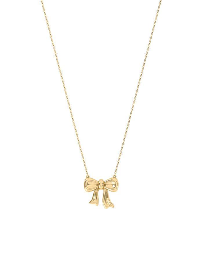 سلسال هدية الحب ، من الذهب الأصفر عيار 18 قيراط