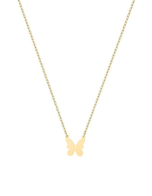 سلسال الفراشة الصغيرة، من الذهب الأصفر عيار 18 قيراط