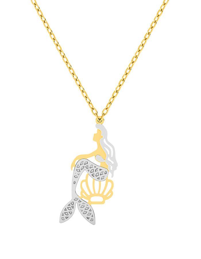 سلسال حورية البحر الذهبية