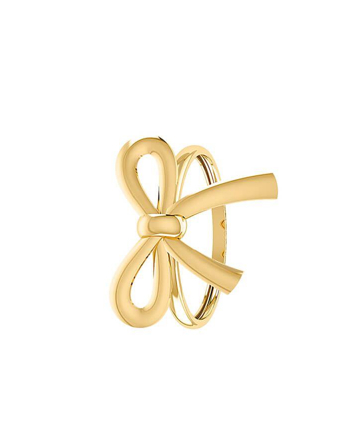 خاتم هدية ذهبية، من الذهب الوردي عيار 18 قيراط
