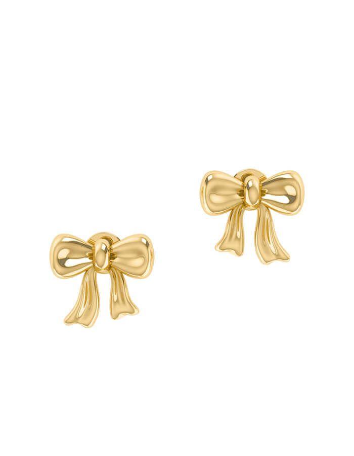 حلق هدية الحب ، من الذهب الأصفر عيار 18 قيراط